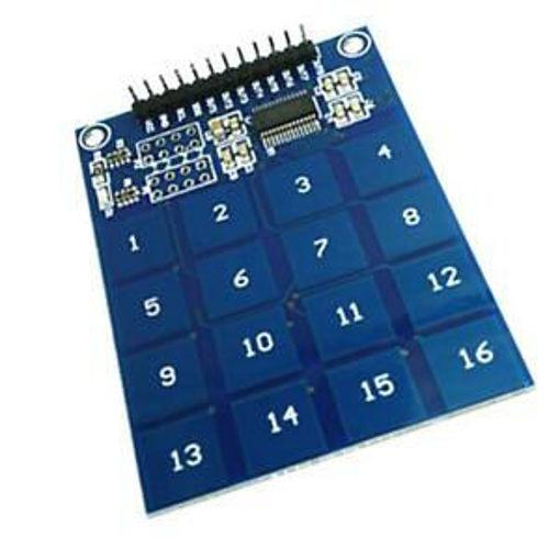 Slika proizvoda: Arduino TTP229 16-kanalni kapacitivni senzor dodira