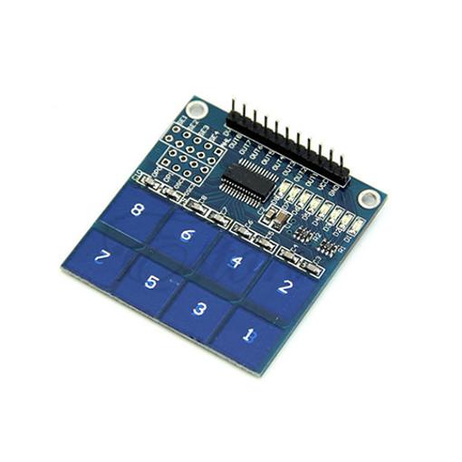 Slika proizvoda: Arduino TTP226 8-kanalni kapacitivni senzor dodira