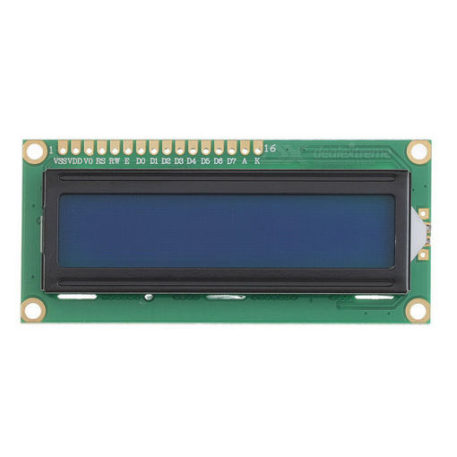 Slika proizvoda: Arduino Displej 1602+I2C plavo pozadinsko osvetljenje
