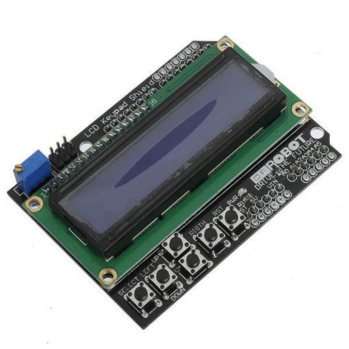 Slika proizvoda: Arduino Displej RG1602A plavo pozadinsko osvetljenje
