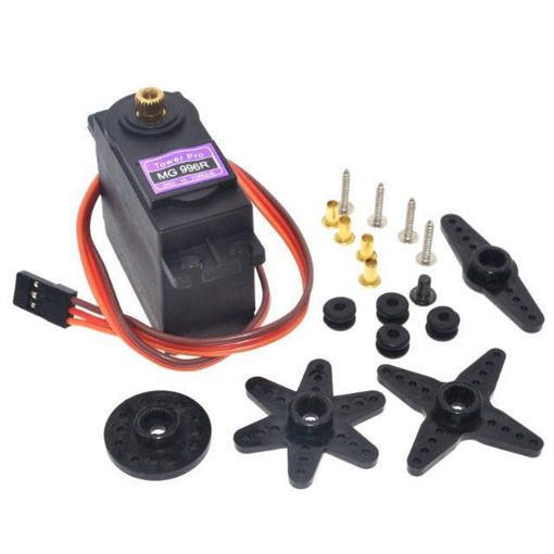 Slika proizvoda: Mini servo motor MG996R sa metalnim zupčanicima