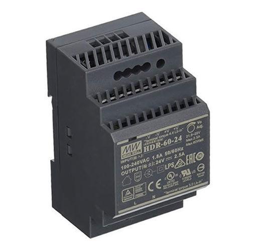 Slika proizvoda: Napajanje Mean Well HDR-60-24 60W 24V