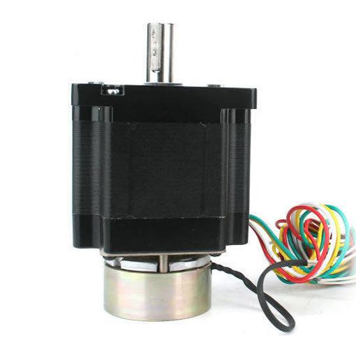 Slika proizvoda: Step Motor NEMA 34 86x155, 6.0A, 13Nm sa kočnicom